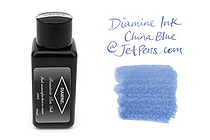 Diamine Fountain Pen Ink - 30 ml - China Blue - DIAMINE INK 3045