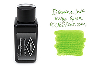 Diamine Kelly Green Ink - 30 ml Bottle - DIAMINE INK 3048