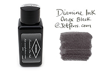 Diamine Fountain Pen Ink - 30 ml - Onyx Black - DIAMINE INK 3053