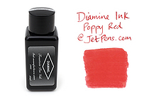Diamine Fountain Pen Ink - 30 ml - Poppy Red - DIAMINE INK 3055