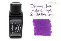 Diamine Majestic Purple Ink - 30 ml Bottle - DIAMINE INK 3065