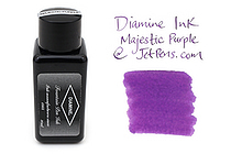 Diamine Fountain Pen Ink - 30 ml - Majestic Purple - DIAMINE INK 3065