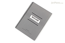 Apica Wizard Notebook - Semi B5 - 6.5 mm Rule - Gray - APICA SW13D