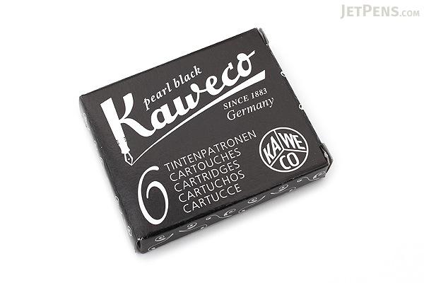 Kaweco Pearl Black Ink - 6 Cartridges - KAWECO 10000257