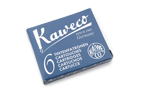 Kaweco Fountain Pen Ink Cartridge - Midnight Blue - Pack of 6 - KAWECO 10000258