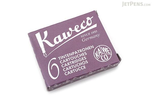 Kaweco Summer Purple Ink - 6 Cartridges - KAWECO 10000010