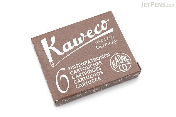 Kaweco Fountain Pen Ink Cartridge - Caramel Brown - Pack of 6 - KAWECO 10000259