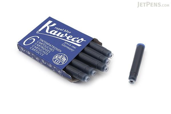 Kaweco Royal Blue Ink - 6 Cartridges - KAWECO 10000256