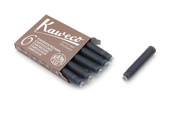 Kaweco Fountain Pen Ink Cartridge - Caramel Brown - Pack of 6 - KAWECO 10000259