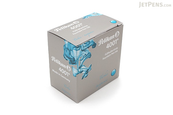 Pelikan 4001 Turquoise Ink - 30 ml Bottle - PELIKAN 311894