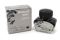 Pelikan 4001 Fountain Pen Ink Collection - 30 ml Bottle - Brilliant Black - PELIKAN 301051