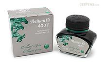 Pelikan 4001 Brilliant Green Ink - 30 ml Bottle - PELIKAN 301044
