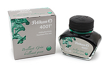 Pelikan 4001 Fountain Pen Ink Collection - 30 ml Bottle - Brilliant Green - PELIKAN 301044