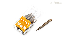Zebra Comic Pen Nib - Maru (Mapping) Model - Pack of 10 - ZEBRA PM-1B-A-K