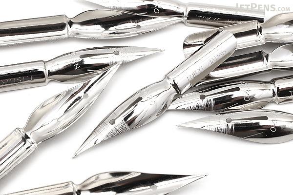 Zebra Comic Pen Nib - Tama Model - Hard - Pack of 10 - ZEBRA PT-6C-C-K