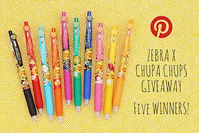Pen Perks: Chupa Chups Pinterest Giveaway - 5 Winners!