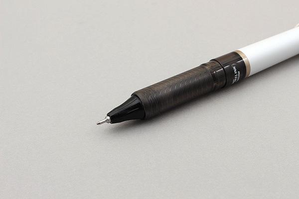 Pentel EnerGel Tradio Needle-Point Gel Pen - 0.5 mm - White Body - Black Ink - PENTEL BLN115JW-A