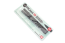 Sakura Pigma Professional Brush Pen - Fine - Black - Pack of 2 - SAKURA 50025
