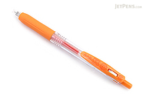 Zebra Sarasa Push Clip Gel Pen - 0.3 mm - Orange - ZEBRA JJH15-OR