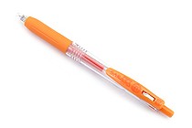 Zebra Sarasa Push Clip Gel Pen - 0.3 mm - Orange - ZEBRA JJH15-OR