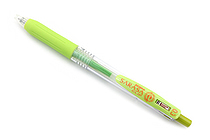 Zebra Sarasa Push Clip Gel Pen - 0.3 mm - Light Green - ZEBRA JJH15-LG