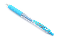 Zebra Sarasa Push Clip Gel Pen - 0.3 mm - Light Blue - ZEBRA JJH15-LB