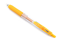 Zebra Sarasa Push Clip Gel Pen - 0.3 mm - Yellow - ZEBRA JJH15-Y