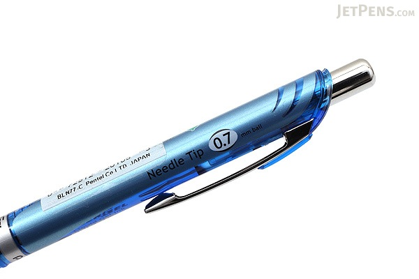 Pentel EnerGel Deluxe RTX Needle-Point Gel Pen - 0.7 mm - Blue - PENTEL BLN77-C