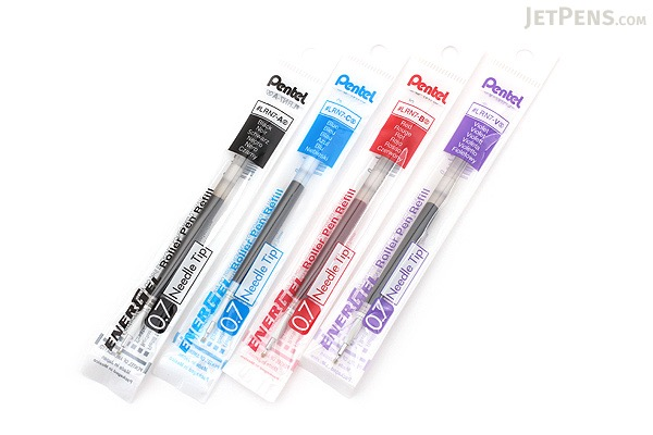 Pentel EnerGel LRN7 Needle-Point Gel Pen Refill - 0.7 mm - Violet - PENTEL LRN7-V