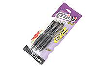 Pilot G-2 Mini Mechanical Pencil - 0.7 mm - Black - Pack of 3 - PILOT 51100