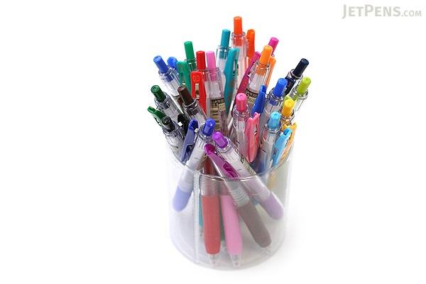 Zebra Sarasa Push Clip Gel Pen - 0.3 mm - Red Orange - ZEBRA JJH15-ROR