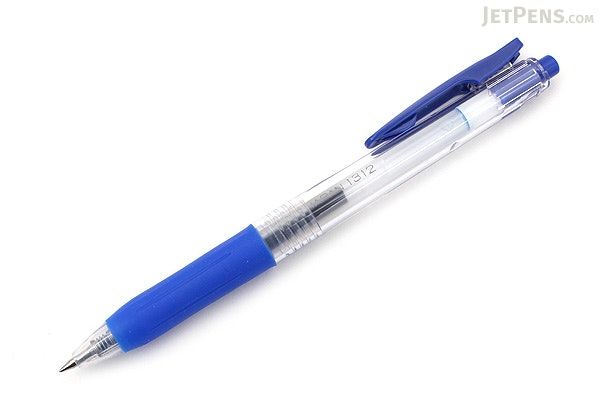 Zebra Sarasa Push Clip Gel Pen - 0.3 mm - Blue - ZEBRA JJH15-BL