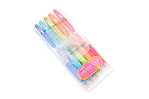 Zebra Sarasa Push Clip Gel Pen - 0.3 mm - 5 Color Set - ZEBRA JJH15-5C