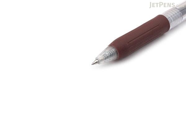 Zebra Sarasa Push Clip Gel Pen - 0.3 mm - Brown - ZEBRA JJH15-E