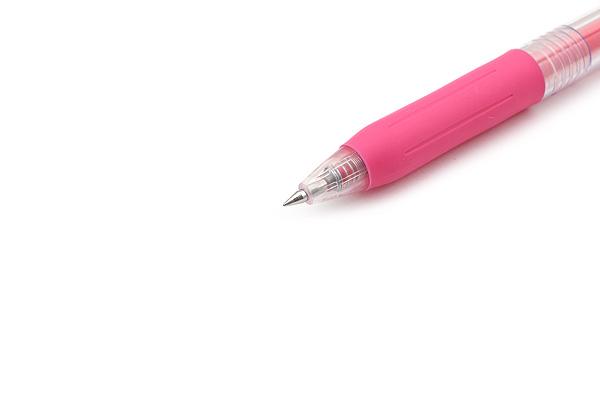 Zebra Sarasa Push Clip Gel Pen - 0.3 mm - Pink - ZEBRA JJH15-P