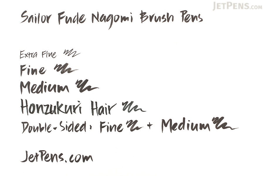 Sailor Fude Nagomi Brush Pen - Ryofuka Model - Double-Sided Fine/Medium - SAILOR 27-3204-020