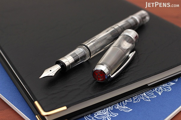 TWSBI Diamond 580 Clear Fountain Pen - Medium Nib - TWSBI M7443130