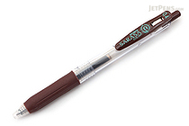 Zebra Sarasa Push Clip Gel Pen - 0.4 mm - Brown - ZEBRA JJS15-E
