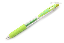 Zebra Sarasa Push Clip Gel Pen - 0.4 mm - Light Green - ZEBRA JJS15-LG