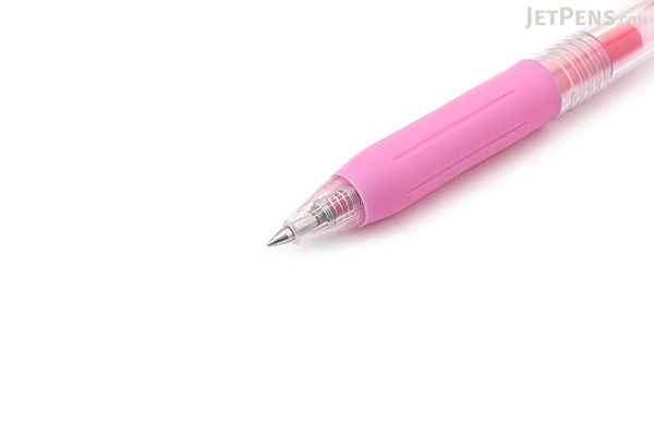 Zebra Sarasa Push Clip Gel Pen - 0.4 mm - Light Pink - ZEBRA JJS15-LP