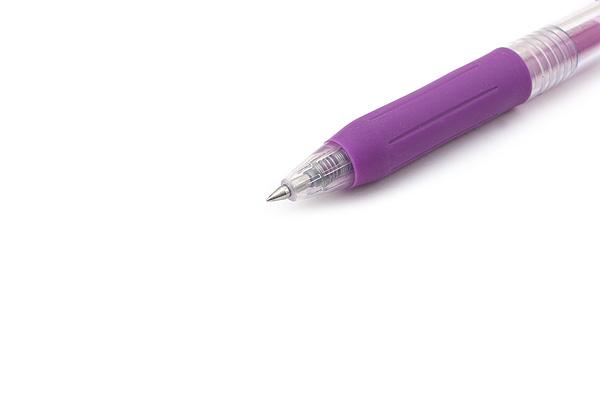 Zebra Sarasa Push Clip Gel Pen - 0.4 mm - Purple - ZEBRA JJS15-PU