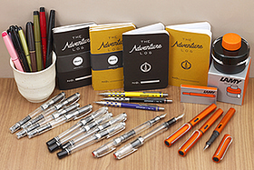 New Products: TWSBI Fountain Pens, Graph Gear 800 Drafting Pencils, Sailor Brush Pens, and More!
