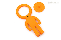 Raymay Light Man Bendable Mag-Loupe Magnifier - Orange - RAYMAY LTM186 D