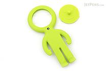 Raymay Light Man Bendable Mag-Loupe Magnifier - Green - RAYMAY LTM186 M