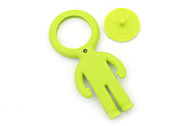 Raymay Light Man Bendable Mag-Loupe Magnifier - Green - RAYMAY LTM186 M