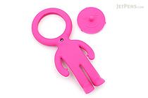 Raymay Light Man Bendable Mag-Loupe Magnifier - Pink - RAYMAY LTM186 P
