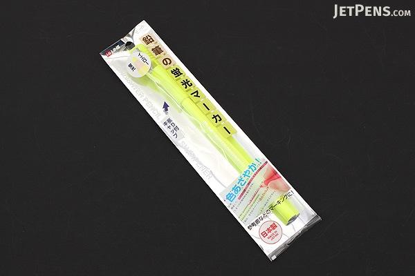 Kutsuwa HiLiNE Highlighter Pencil - Yellow - KUTSUWA RF017YE-220