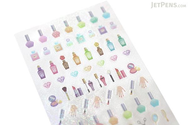 Midori Seal Collection Planner Stickers - Beauty - MIDORI 82138-006