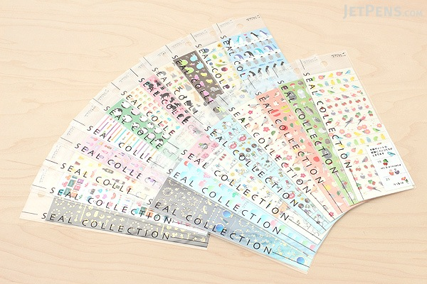 Midori Seal Collection Planner Stickers - Small Owl - MIDORI 82195-006