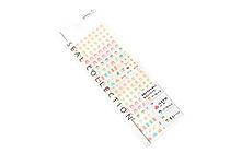 Midori Seal Collection Planner Stickers - Family - MIDORI 82139-006